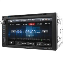 "6.5"" Double-DIN In-Dash DVD Receiver with Bluetooth®"