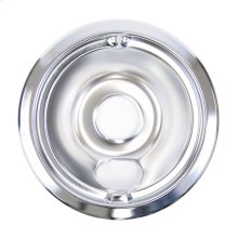 6 inch Chrome electric range burner bowl