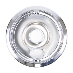 GE6 inch Chrome electric range burner bowl