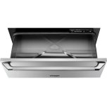 """DacorHeritage 27"""" Epicure Warming Drawer, Silver Stainless Steel"""