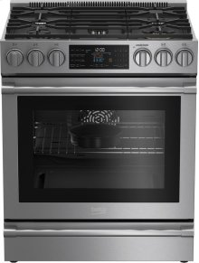 30 Inch Slide-In Dual Fuel Range