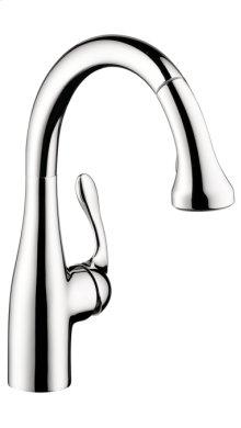 Chrome Allegro E Gourmet 2-Spray Prep Kitchen Faucet, Pull-Down