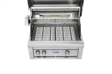 "30"" Grill w/ Rotisserie on Mobile Kitchen Cart LP"