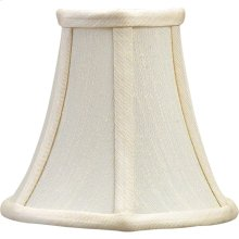Visual Comfort CHS109S E. F. Chapman Clip On Silk Bell Shade 5 inch Shade