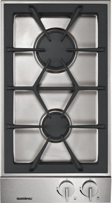 Vario gas cooktop 200 series VG 232 214 CA Stainless steel control panel Width 12 '' Natural gas 15 mbar