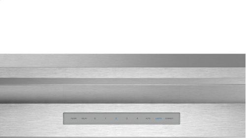 36-Inch Masterpiece®Low-Profile Wall Hood with 600 CFM
