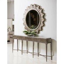 Revival Daybreak Round Mirror - Oxidized Silver