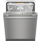 Fully-integrated, full-size dishwasher with hidden control panel, 3D+ cutlery tray and CleanTouch Steel panel