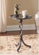 Round Glass Top Table Product Image