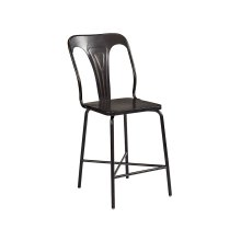 Chimney Gaven Metal Stamped Counter Height Chair