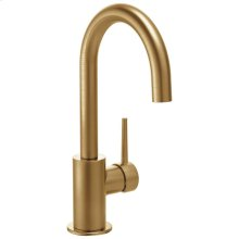 Champagne Bronze Single Handle Bar Faucet