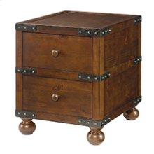 Hidden Treasures Trunk End Table