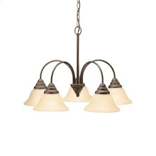 Telford Collection Telford 5 Light Chandelier - Olde Bronze