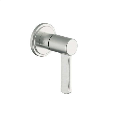 Volume Control and Diverter Darby Series 15 Satin Nickel