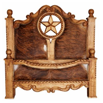 Queen King Rope, Star U0026 Cowhide Bed