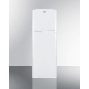 Summit8.8 CU.FT. Frost-free Refrigerator-freezer In White, With Factory Installed Icemaker