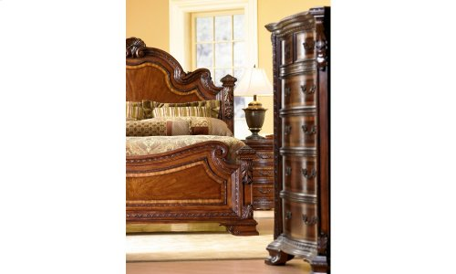 Old World King Estate Bed