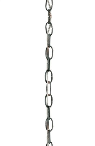 Chain-3' Annatto Antique Silver - 3 feet