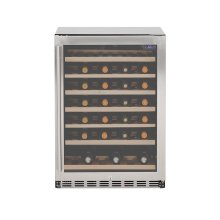 "Summerset 24"" 5.3c Deluxe Outdoor Rated Wine Cooler"