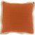 "Additional Jute Flange JF-004 18"" x 18"" Pillow Shell with Polyester Insert"