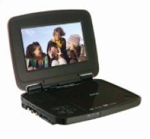 """7"""" Portable DVD Player with SD Slot and USB Port"""