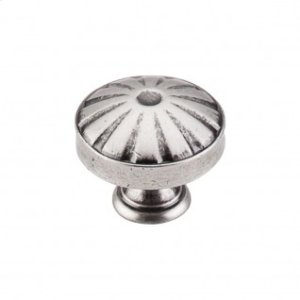 Hudson Knob 1 1/4 Inch - Pewter Antique