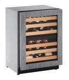 """2000 Series 24"""" Wine Captain® Model With Integrated Frame Finish and Field Reversible Door Swing (115 Volts / 60 Hz) Product Image"""