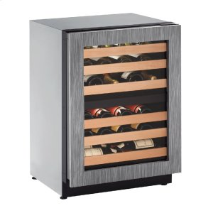 "U-Line2000 Series 24"" Wine Captain(r) Model With Integrated Frame Finish and Field Reversible Door Swing (115 Volts / 60 Hz)"