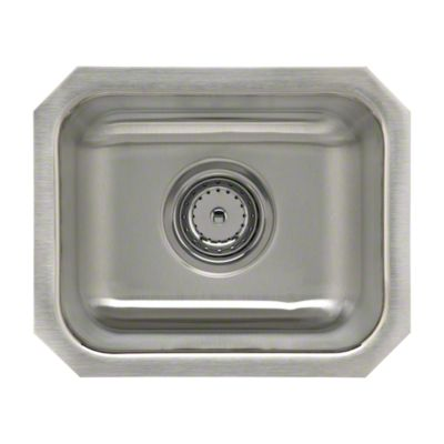 """Springdale® Undercounter Secondary Sink with Strainer, 14"""" x 12"""""""