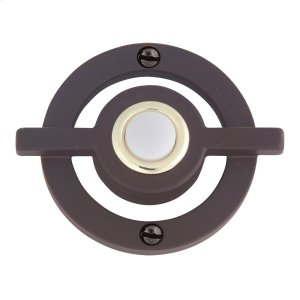 Avalon Door Bell - Aged Bronze Product Image