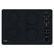 """30"""" Electric Cooktop - Unframed - DISPLAY MODEL - Available at 2430 Queen City Dr."""