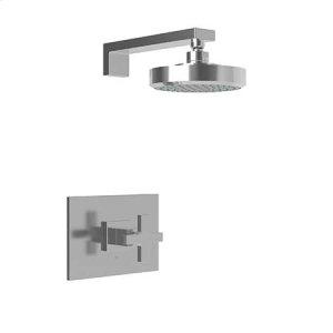 Weathered Copper - Living Balanced Pressure Shower Trim Set