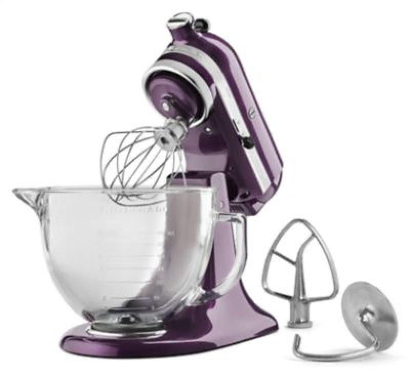 Kitchenaid Artisan Design Series 5 Qt Stand Mixer ksm155gbpb in plum berrykitchenaid in bronx, ny - artisan