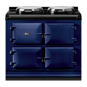 """AGAAGA Total Control 39"""" Electric Dark Blue with Stainless Steel trim"""