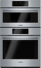 """800 Series, 30"""" Combo, Upper: Microwave, Lower: EU Conv, Touch Control Product Image"""