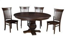 "54"" Solid Top**5/4**Thick Top ** Pedestal Table"