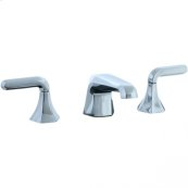 Hexa - 3 Hole Widespread Lavatory Faucet - Polished Chrome