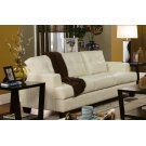 Samuel Transitional Cream Sofa Product Image