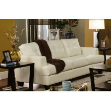 Samuel Transitional Cream Sofa