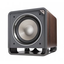"""12"""" Subwoofer with Power Port Technology in Classic Brown Walnut"""