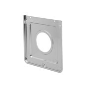 Smart Choice Square Chrome Drip Pan Product Image