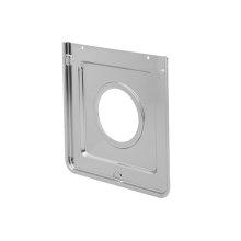 Smart Choice Square Chrome Drip Pan