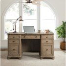 Barrington - Double Pedestal Desk - Antique Oak Finish Product Image