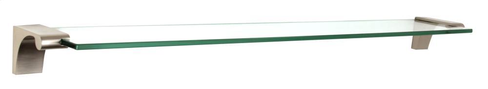 Luna Glass Shelf A6850-24 - Polished Nickel