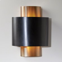 Nordic Gold Wall Sconce-HW