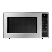 "Heritage 24"" Convection Microwave, Silver Stainless Steel"