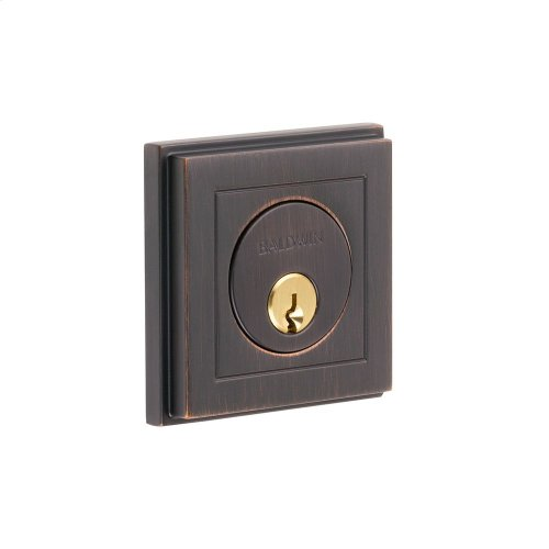 Venetian Bronze Hollywood Hills Deadbolt