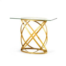 Belt Console Table, Gold