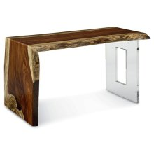 Live Edge Waterfall Desk