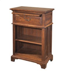 Tall Nightstand w/ One Drawer and One Shelf